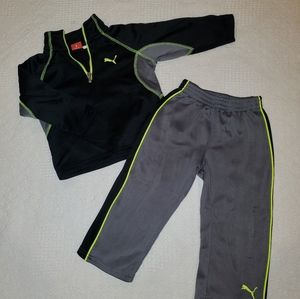 Toddler Puma tracksuit set
